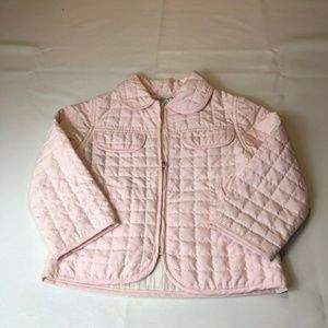 Baby Graziella Girl's Pink Quilted Jacket Size 3